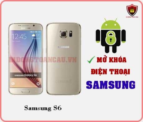Mở khoá điện thoại Samsung S6