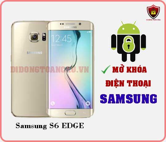 Mở khoá điện thoại Samsung S6 EDGE
