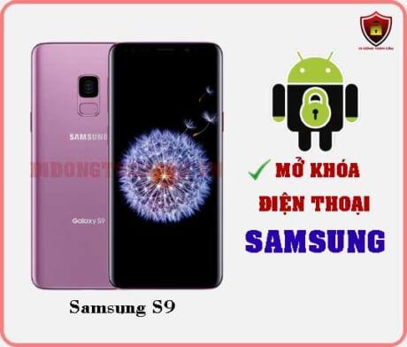 Mở khoá điện thoại Samsung S9