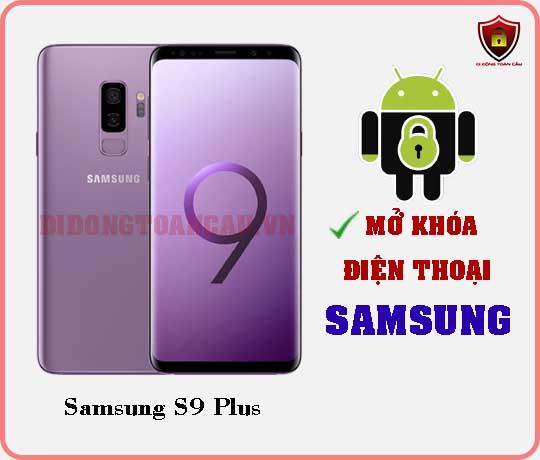 Mở khoá điện thoại Samsung S9 Plus