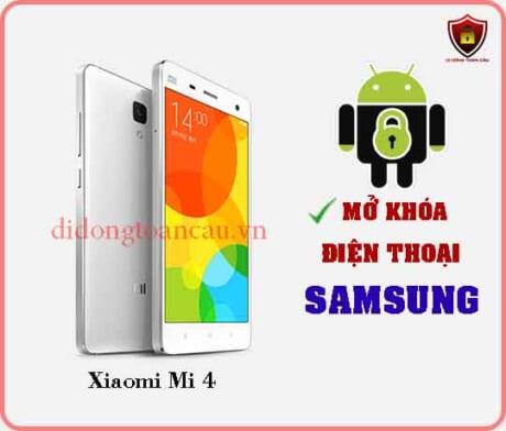 Mở khoá điện thoại Xiaomi Mi 4