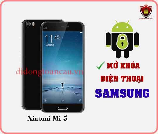Mở khoá điện thoại Xiaomi Mi 5