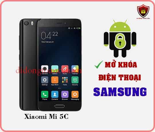 Mở khoá điện thoại Xiaomi Mi 5C