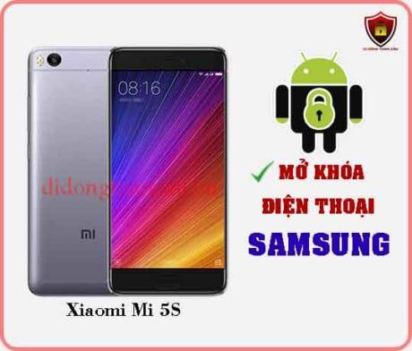 Mở khoá điện thoại Xiaomi Mi 5S