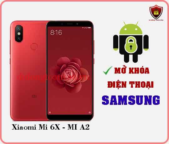 Mở khoá điện thoại Xiaomi Mi 6X MI A2