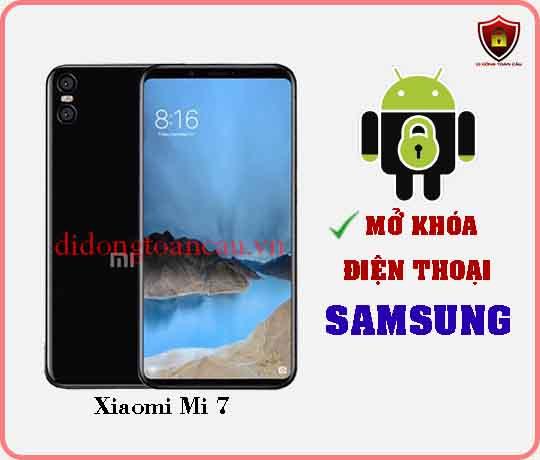 Mở khoá điện thoại Xiaomi Mi 7