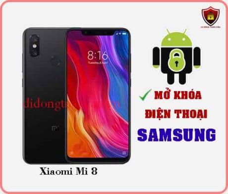 Mở khoá điện thoại Xiaomi Mi 8
