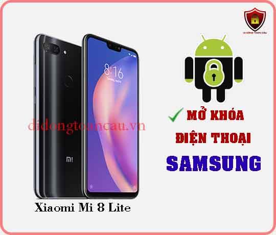 Mở khoá điện thoại Xiaomi Mi 8 Lite