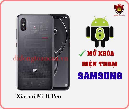 Mở khoá điện thoại Xiaomi Mi 8 Pro
