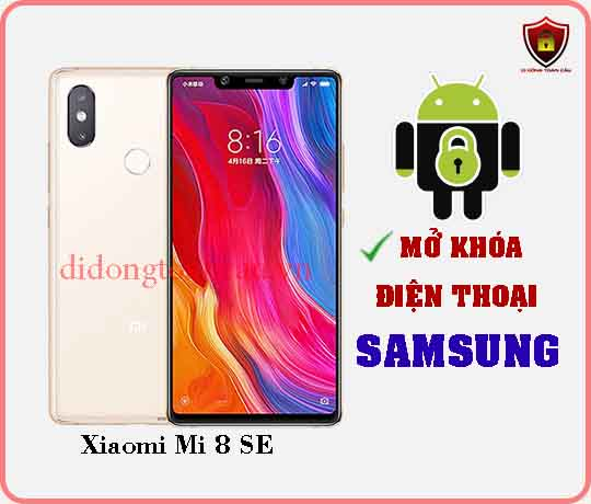 Mở khoá điện thoại Xiaomi Mi 8 SE
