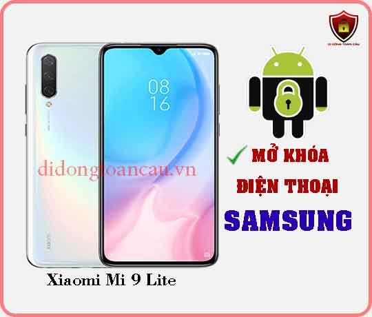 Mở khoá điện thoại Xiaomi Mi 9 LITE