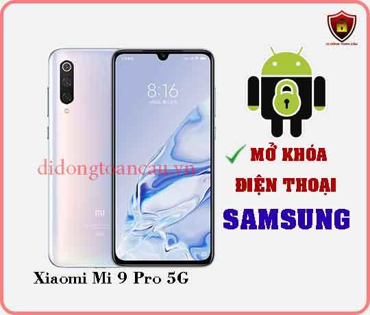 Mở khoá điện thoại Xiaomi Mi 9 PRO 5G