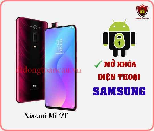 Mở khoá điện thoại Xiaomi Mi 9 T
