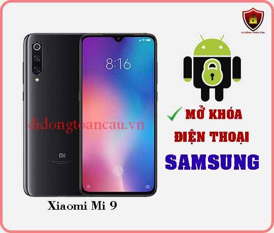 Mở khoá điện thoại Xiaomi Mi 9