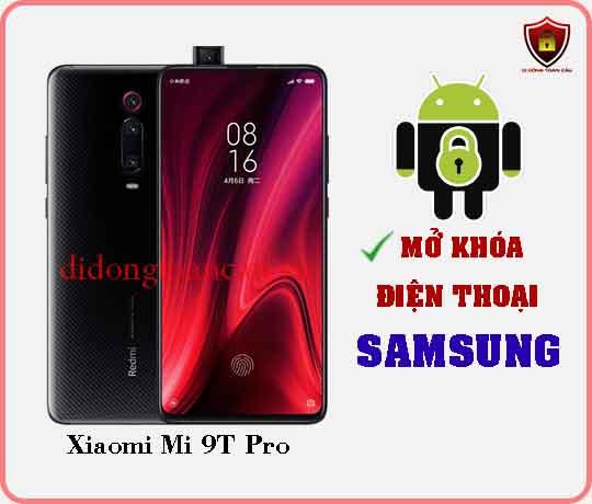 Mở khoá điện thoại Xiaomi Mi 9 T PRO