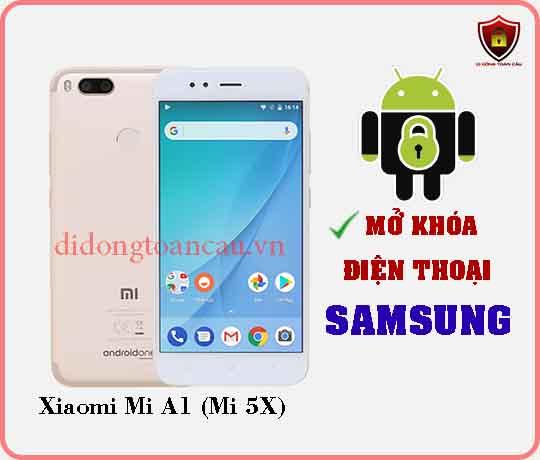 Mở khoá điện thoại Xiaomi Mi A1 MI 5X