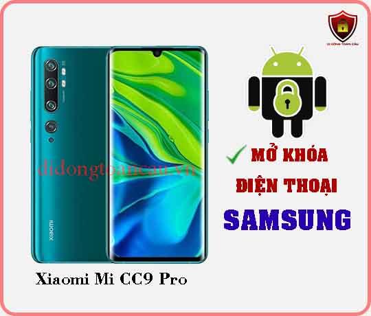 Mở khoá điện thoại Xiaomi Mi CC9 PRO