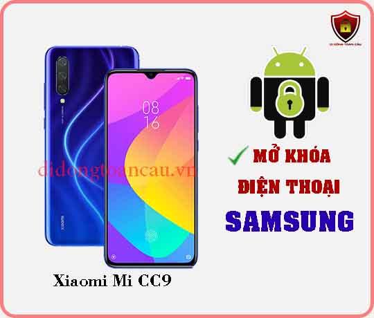 Mở khoá điện thoại Xiaomi Mi CC9