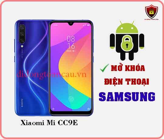 Mở khoá điện thoại Xiaomi Mi CC9E