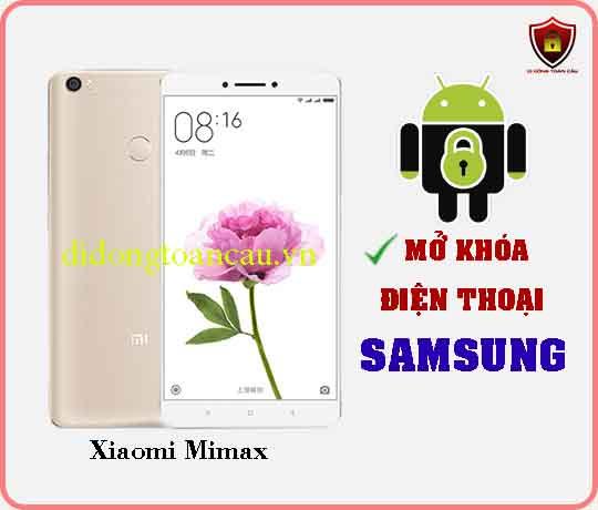 Mở khoá điện thoại Xiaomi Mimax