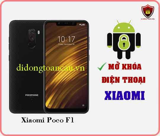 Mở khoá điện thoại Xiaomi Poco F1