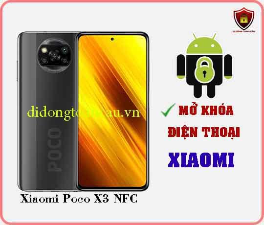 Mở khoá điện thoại Xiaomi Poco X3 NFC
