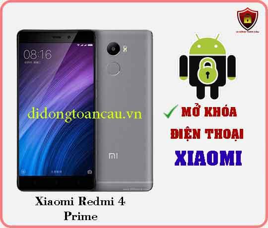 Mở khoá điện thoại Xiaomi REDMI 4 PRIME