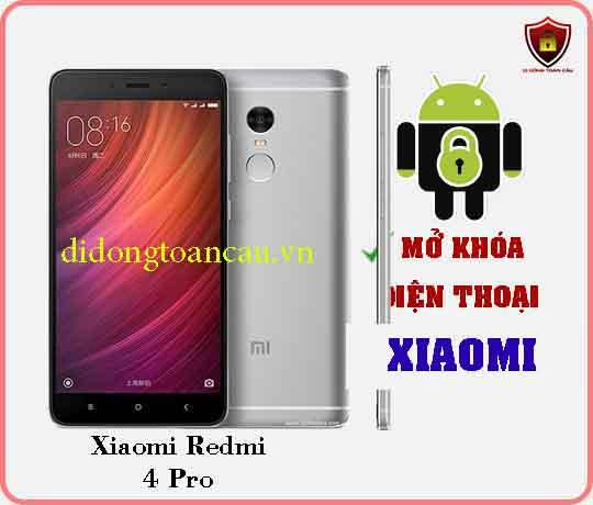 Mở khoá điện thoại Xiaomi REDMI 4 PRO
