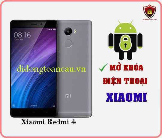 Mở khoá điện thoại Xiaomi REDMI 4