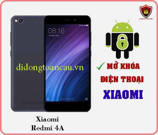 Mở khoá điện thoại Xiaomi REDMI 4A