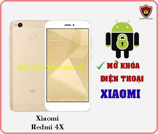 Mở khoá điện thoại Xiaomi REDMI 4X 2
