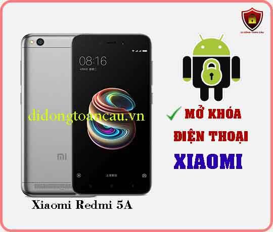 Mở khoá điện thoại Xiaomi REDMI 5A