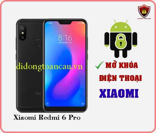 Mở khoá điện thoại Xiaomi REDMI 6 PRO