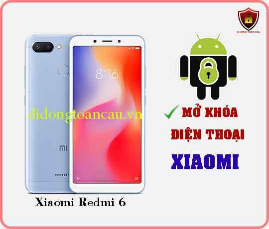 Mở khoá điện thoại Xiaomi REDMI 6