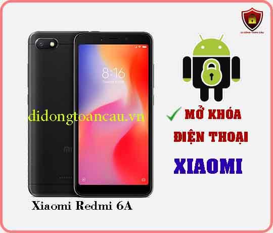 Mở khoá điện thoại Xiaomi REDMI 6A