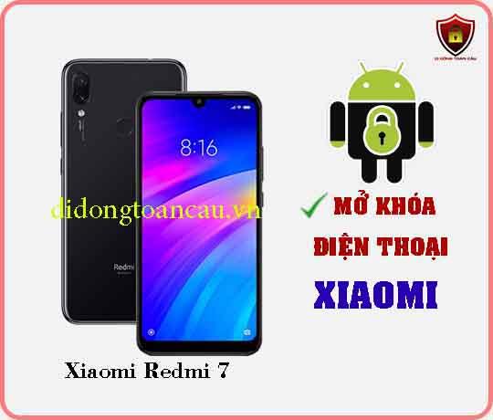 Mở khoá điện thoại Xiaomi REDMI 7