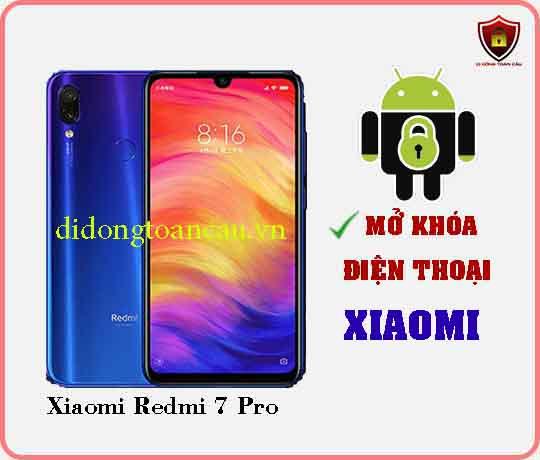 Mở khoá điện thoại Xiaomi REDMI 7 PRO