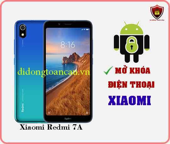 Mở khoá điện thoại Xiaomi REDMI 7A