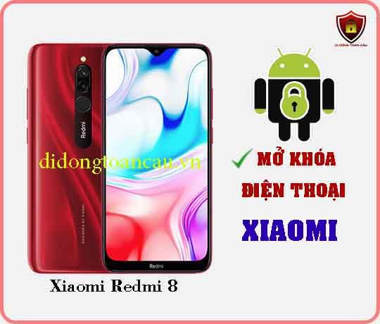 Mở khoá điện thoại Xiaomi REDMI 8