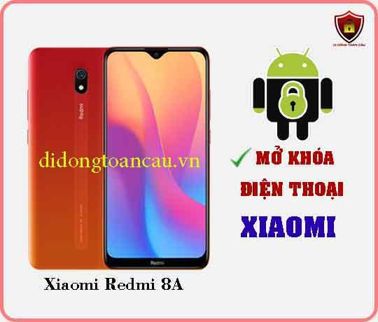 Mở khoá điện thoại Xiaomi REDMI 8A