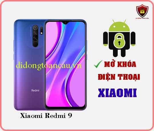 Mở khoá điện thoại Xiaomi REDMI 9