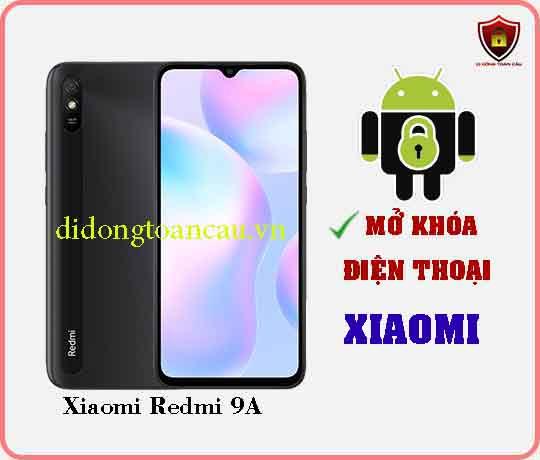 Mở khoá điện thoại Xiaomi REDMI 9A