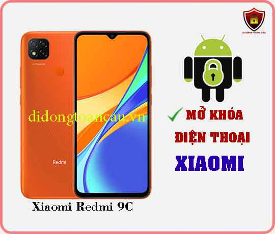 Mở khoá điện thoại Xiaomi REDMI 9C
