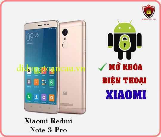 Mở khoá điện thoại Xiaomi REDMI NOTE 3 PRO