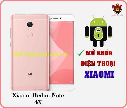 Mở khoá điện thoại Xiaomi REDMI NOTE 4X