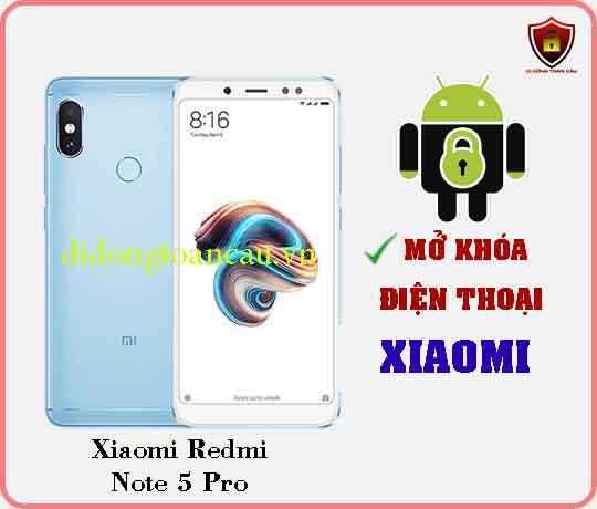 Mở khoá điện thoại Xiaomi REDMI NOTE 5 PRO