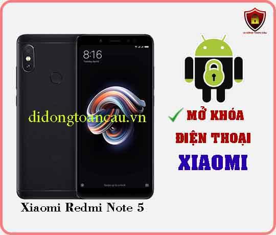 Mở khoá điện thoại Xiaomi REDMI NOTE 5