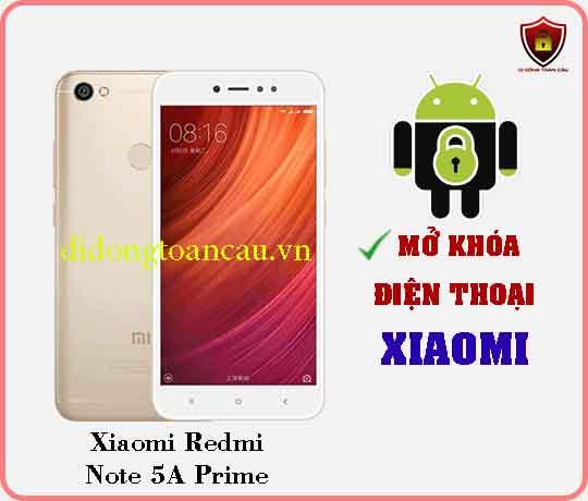 Mở khoá điện thoại Xiaomi REDMI NOTE 5A PRIME