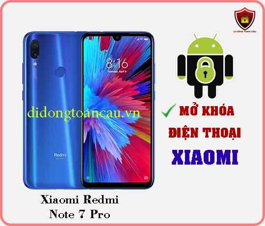 Mở khoá điện thoại Xiaomi REDMI NOTE 7 PRO