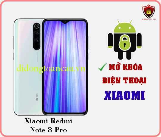 Mở khoá điện thoại Xiaomi REDMI NOTE 8 PRO